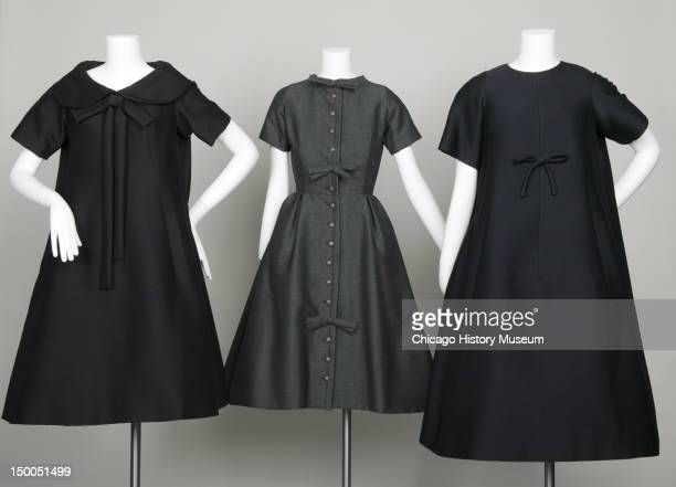 Trapeze afternoon dresses 1958 Mohair by Yves Saint Laurent for Christian Dior