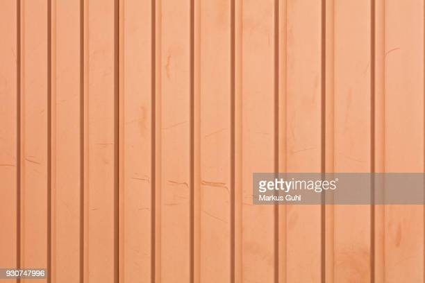 trapezoidal sheet wall - trapezoid stock pictures, royalty-free photos & images