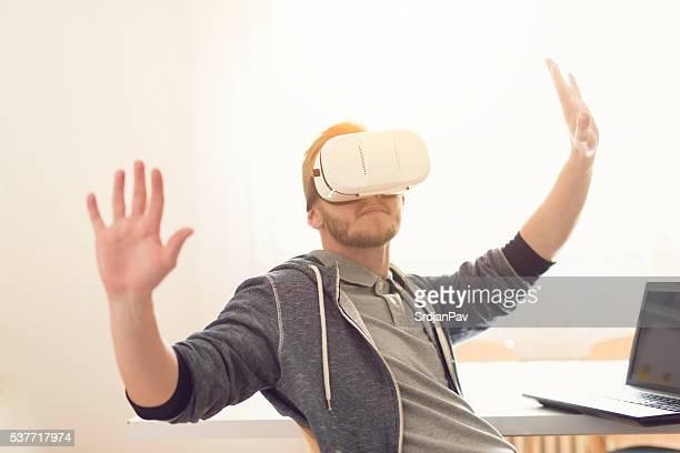 Gefangen in einen virtuellen Kapsel