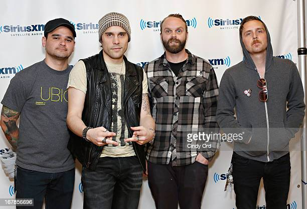 Trapt visits the SiriusXM Studios on May 1 2013 in New York City