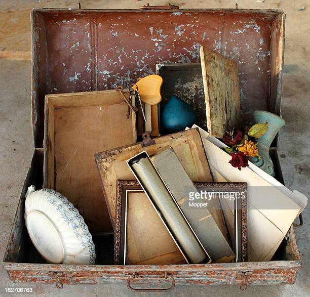 Müll und Treasure Decluttering