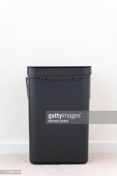 trash bin - rubbish bin stock pictures, royalty-free photos & images
