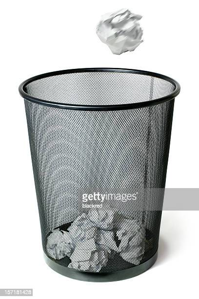 trash can shot - garbage can stock photos and pictures