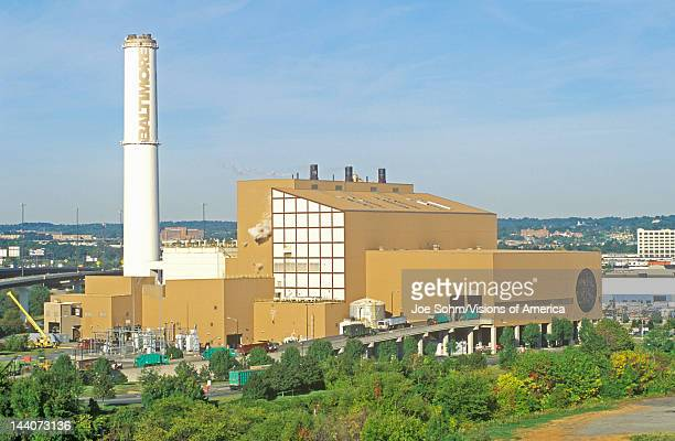 Trash Incinerator Baltimore Maryland