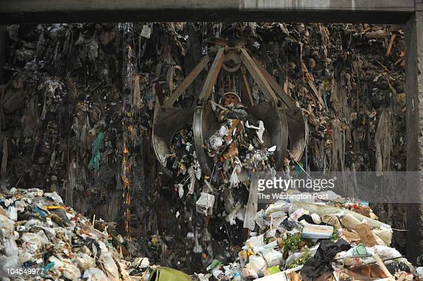 Trash is prepared to be burned at the COVANTA Fairfax Energy/Resource Recovery Facility on May 14 in Lorton VA Fairfax County is nearly doubling its...