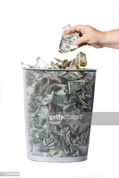 trashed dollars