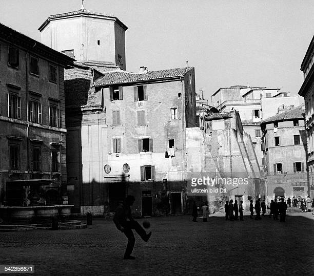 Trastevere das jüdische Viertel von Rom 1958
