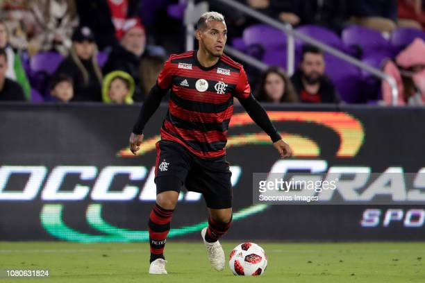 Trauco of Flamengo during the match between Ajax v Flamengo at the Orlando City Stadum on January 10 2019 in Orlando United States