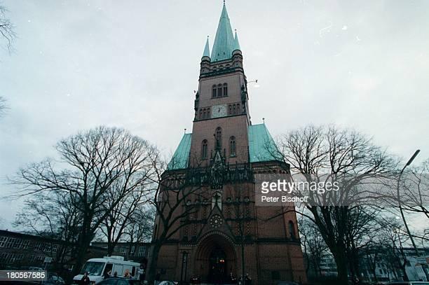 Trauerfeier Dr Peter MatthaesHamburgHarvestehude Kirche am TurmwegGebäude