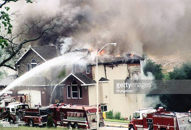 trauma of disaster - damaged stock pictures, royalty-free photos & images