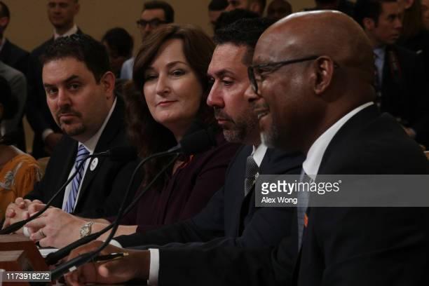 Trauma surgeon and gun violence survivor Joseph Sakran, Mayor of Parkland, Florida, Christine Hunschofsky, Vic Bencomo, member of the Colorado Gun...