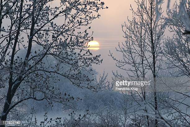 Traumhaft Winterliche Impressionen Am Bayerischen Wald