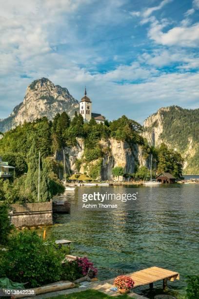 Traunkirchen, Lake Traunsee, Upper Austria, Europe