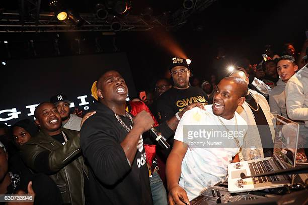Trav Casanova and DJ Self attend the New Year's Eve Preparty With Meek Mill on December 30 2016 in New York City