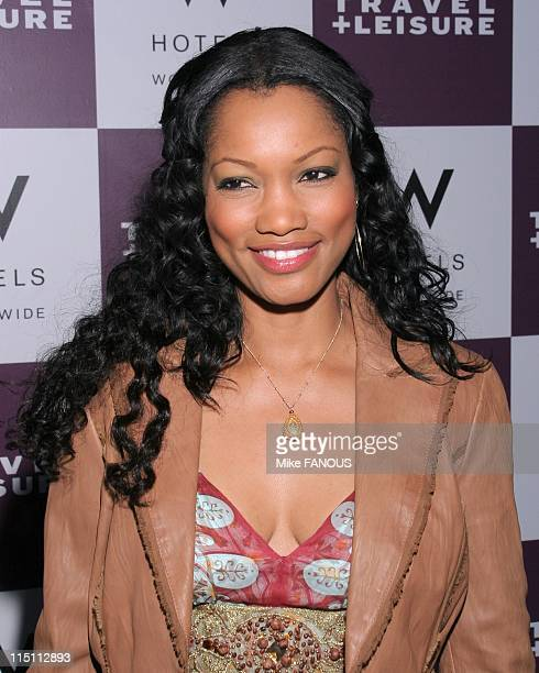 Travel and Leisure magazine's 35th birthday celebration in Westwood, United States on April 19, 2006 - Garcelle Beauvais Nilon at the W hotel.