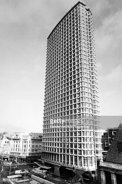Travel Architecture Cities England London pic 30th December 1965 Centre Point the 385 foot new building at the junction of Tottenham Court Road and...