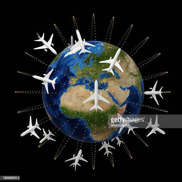 concepto de viajes - europa continente fotografías e imágenes de stock