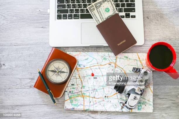 travel concept,travel - making a reservation stock photos and pictures