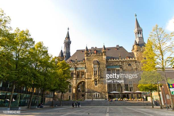 travel destination: aachen - aachen stock pictures, royalty-free photos & images