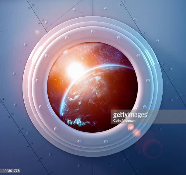 travel destination - porthole stock photos and pictures
