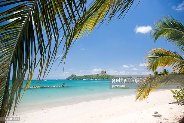 travel destination - pigeon island st lucia - st. lucia stock pictures, royalty-free photos & images