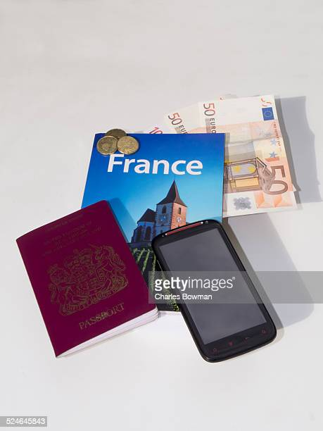 Travel documents misc wait on table