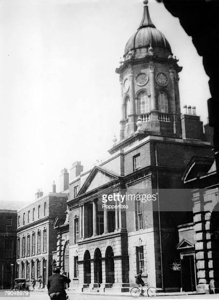 Travel Dublin Eire circa 1900 The heraldic office at Dublin Castle