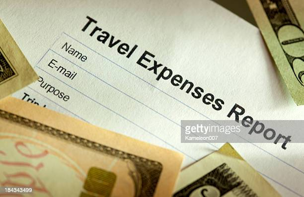 Travel Expense Log sheet
