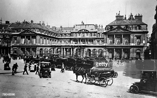 circa 1910's The Palais Royal Paris