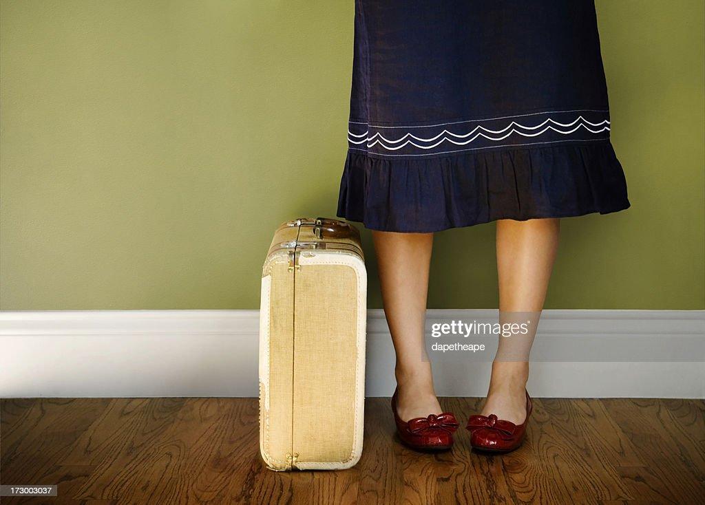travel girl : Stock Photo