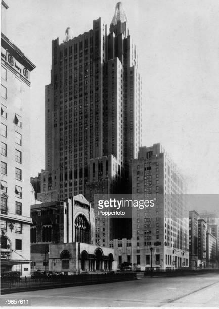 Circa 1940, New York, USA, The Waldorf Astoria Hotel