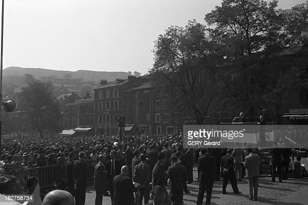 Travel In General Charles De Gaulle In Aveyron En France le 21 septembre 1961 Le Président de la République Française Charles DE GAULLE en visite...