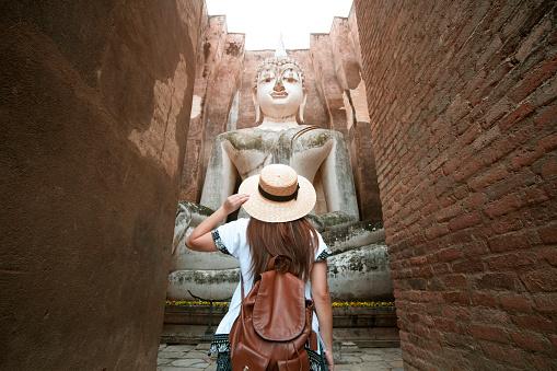 Travel in Sukhothai, Thailand. - gettyimageskorea