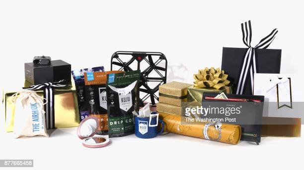 Travel items for the Post's annual gift guide on October 2017 in Washington DC