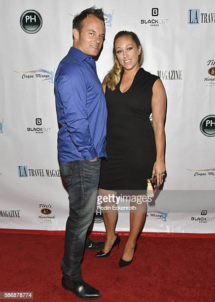 Travel Magazine founders Michael Dunn and Jennifer McLaughlin attend Los Angeles Travel Magazine 2016 Endless Summer Issue Release at Penthouse...