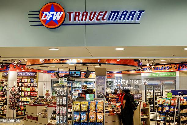 DFW Travel Mart store entrance in Fort Worth International Airport
