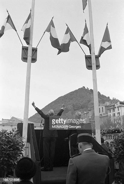 Travel Of Charles De Gaulle In The Southeast Du 22 au 23 octobre 1960 le Général Charles DE GAULLE en voyage officiel dans le SudEst Discours du...