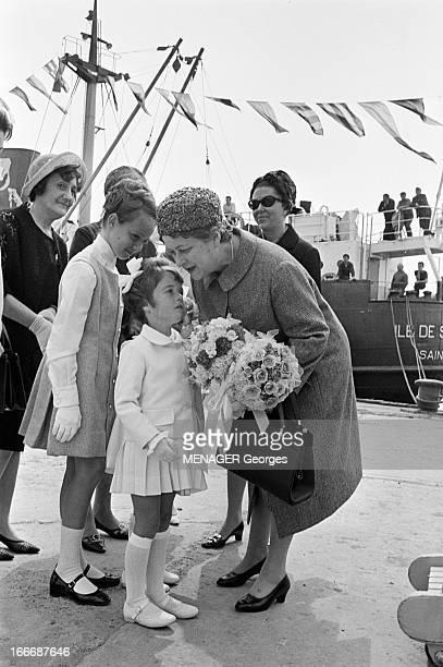 Travel Of General Charles De Gaulle To Saint Pierre And Miquelon SaintPierre et Miquelon le 21 juillet 1967 le Général Charles DE GAULLE et son...