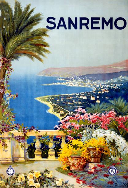 San Remo Travel Poster