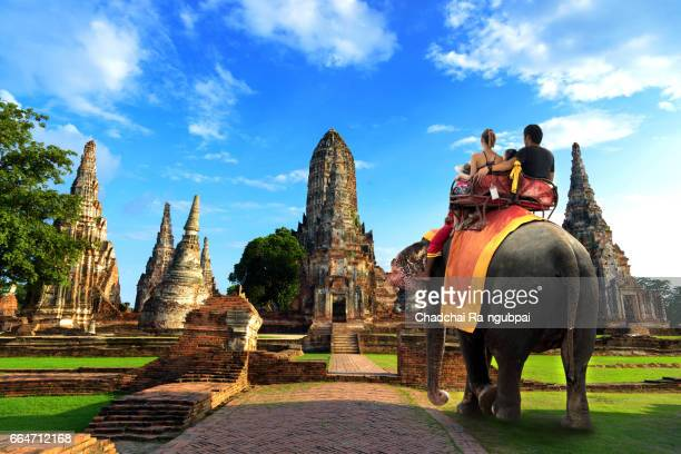travel thailand - ayuthaya province stock pictures, royalty-free photos & images