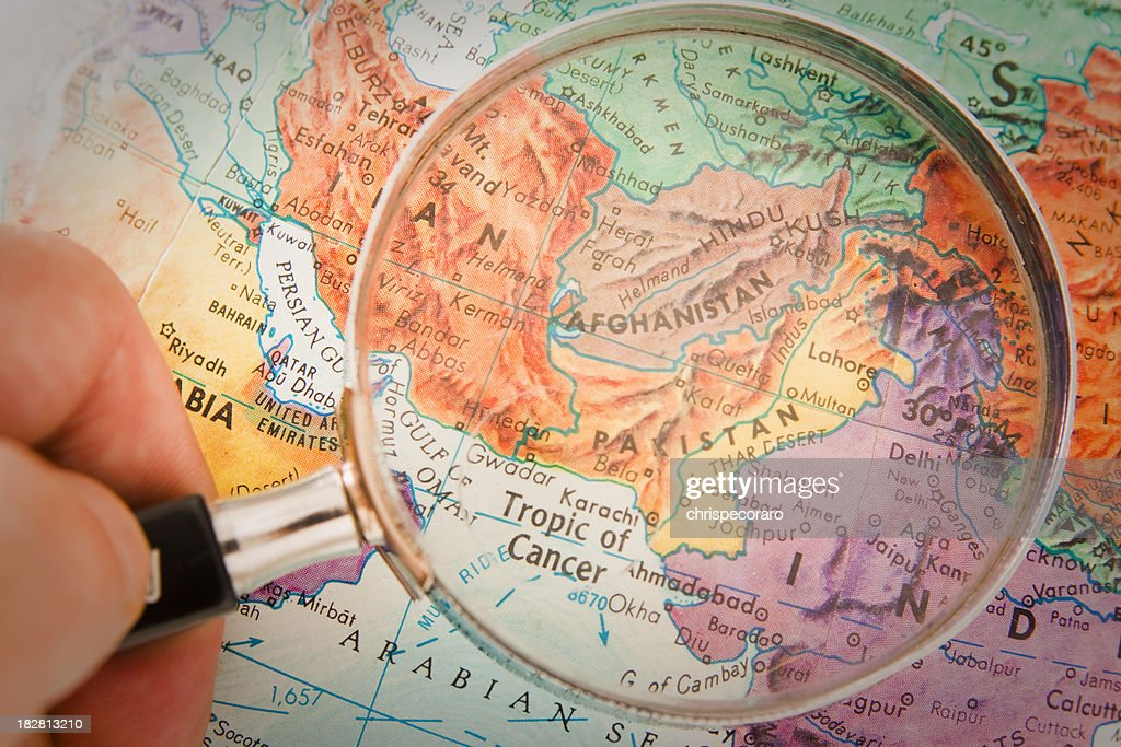 Travel the Globe Series - Afghanistan, Pakistan : Stock Photo