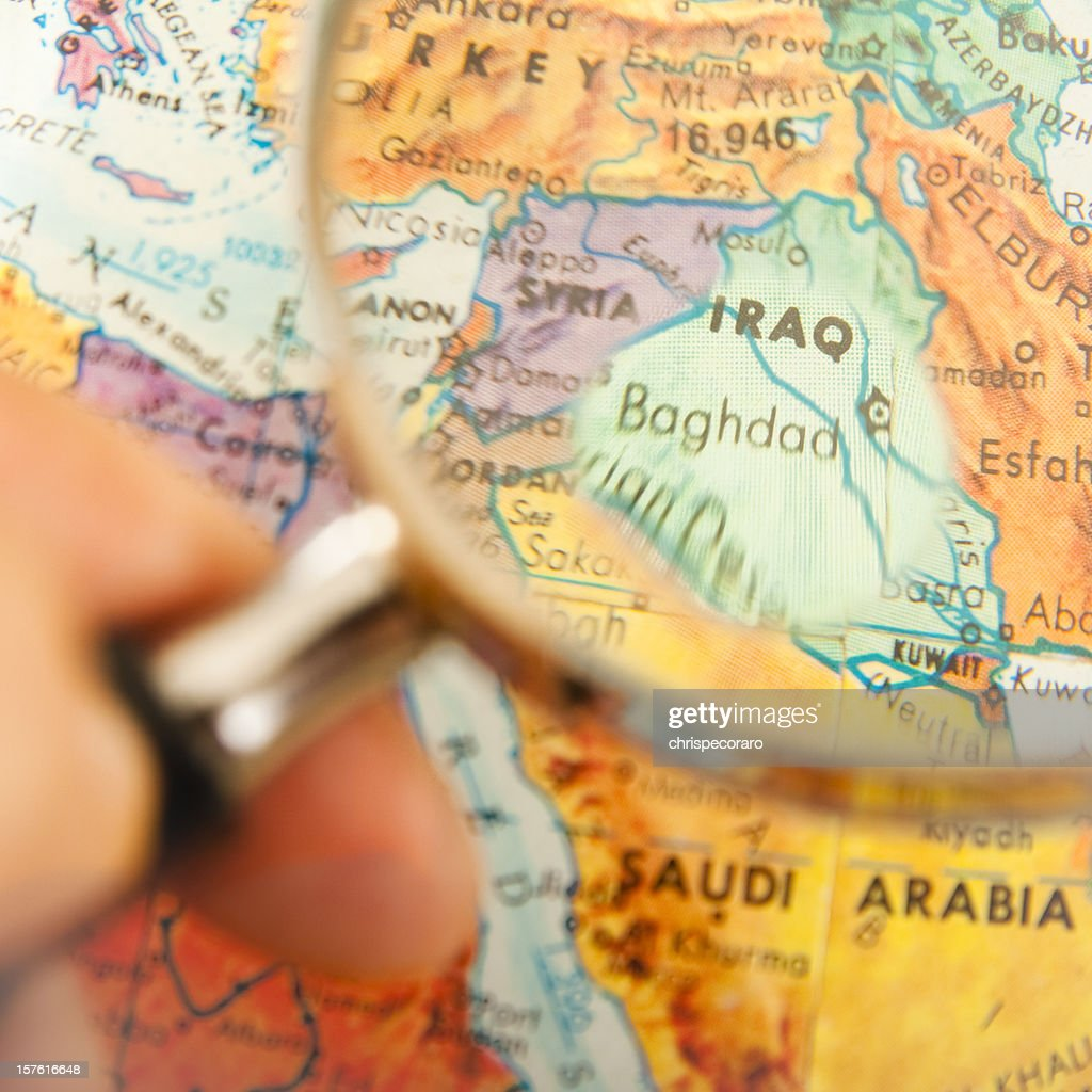 Travel the Globe Series - Baghdad, Iraq : Stock Photo