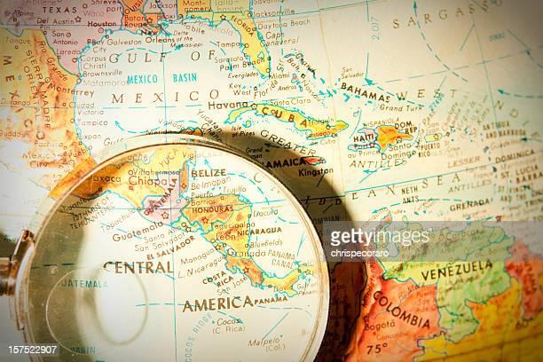旅行の世界中のシリーズ-中南米