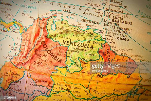 travel the globe series - venezuela, columbia and guyana - venezuela stock pictures, royalty-free photos & images