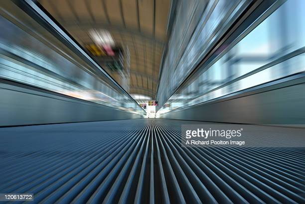 Travelator at Alicante airport