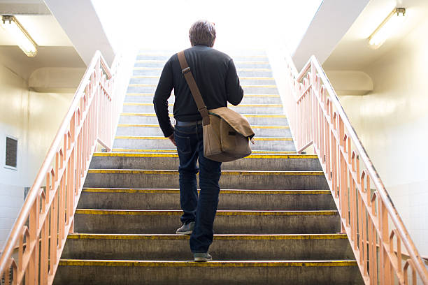 risk of stairs Stair climbing burns more calories than a traditional walk and increases your chance to achieve weight loss understand the benefits and risks of climbing stairs in order to plan your fitness routine.