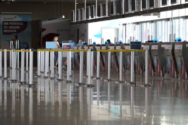 DEU: Cologne Airports Sees Dramatic Slowdown Over Coronavirus Impacts On Travel