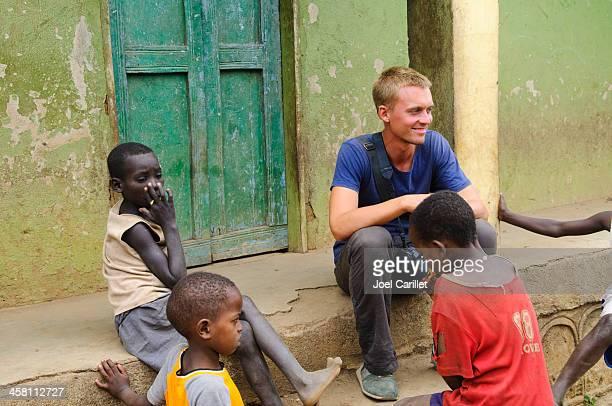 Traveler in Africa
