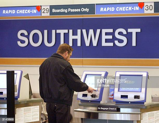 Southwest Airlines Plane Stock Photos And Pictures Getty