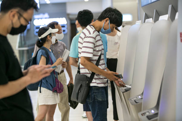 KOR: Travelers at Gimpo Airport and Seoul Station As South Korea Flags Recovery Momentum on Forecast-Beating Output
